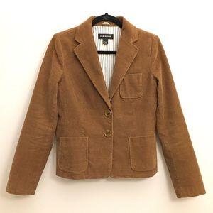 Club Monaco Camel Fine Corduroy Blazer/Jacket
